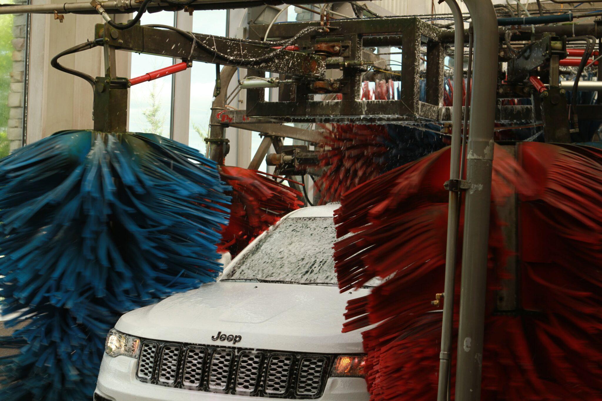 car wash rollers