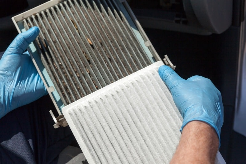 changing your car air filter