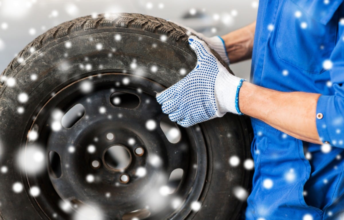 check tires for your winter car checklist