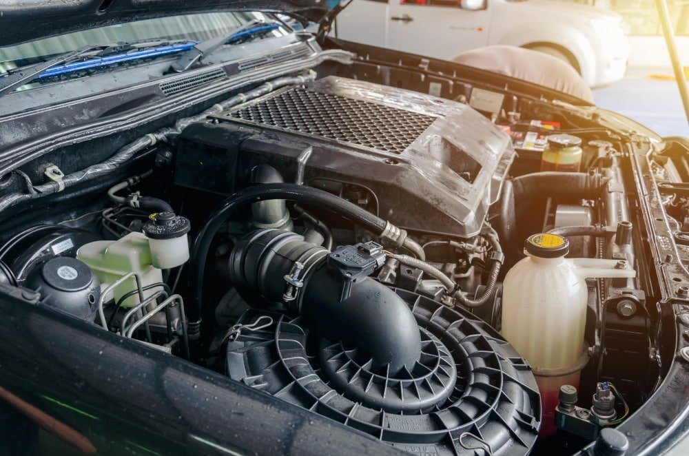 cleaning the car engine bay step-by-step