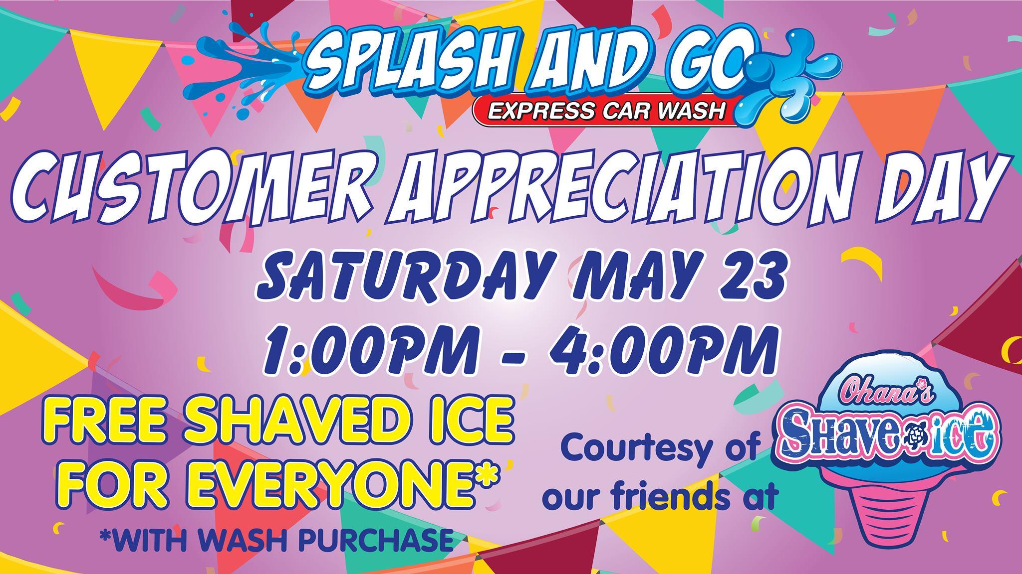 car wash customer appreciation lee's summit