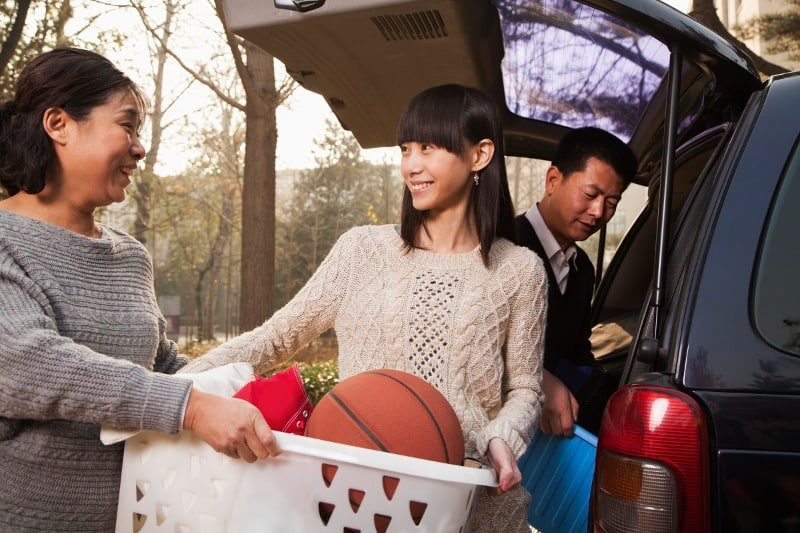 lighten the load in your car to be more eco-friendly